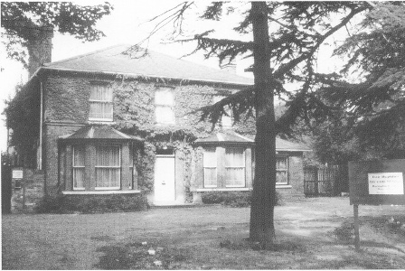 Old picture of Lansdowne House Harlington